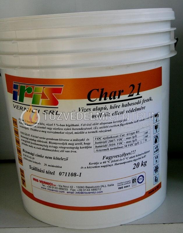 Char 21 s tűzvédő festék fémre