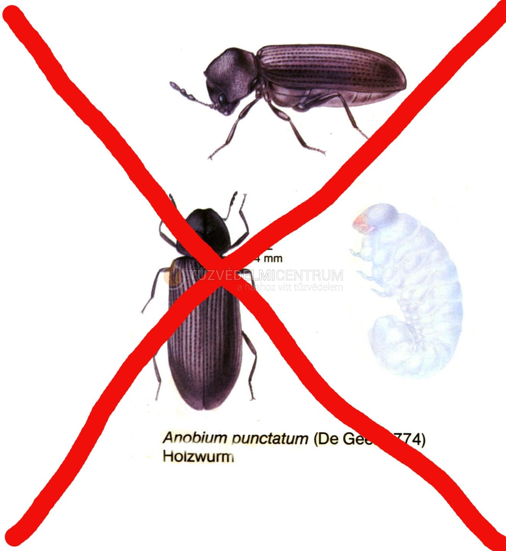 Kemwood ACQ 21 farontó rovar, gomba ellen