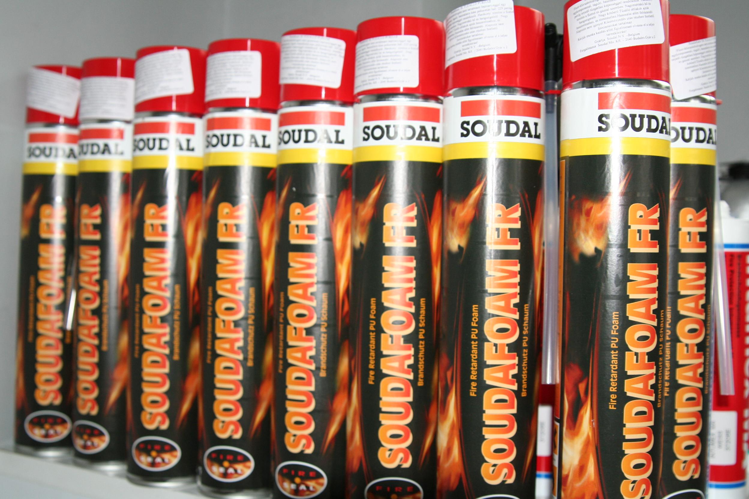 Tűzálló Purhab SOUDAFOAM 1 K  FR